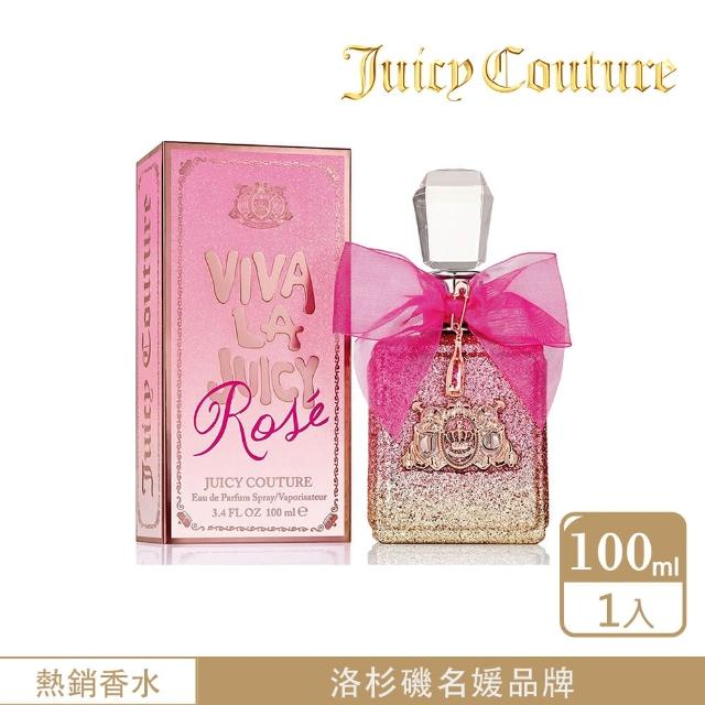 【Juicy Couture】Viva La Juicy Rose玫瑰女性淡香精100ml(新品女香)