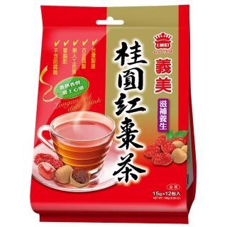 【義美】桂圓紅棗茶(15g x 12小包)