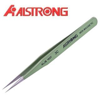 【ALSTRONG】不鏽鋼防靜電無磁鑷子 TZ-119