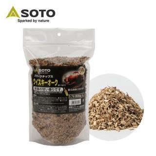 【SOTO】橡木桶煙燻木片-大 ST-1317(煙燻)