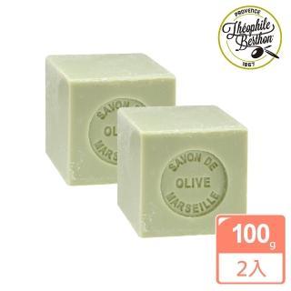 【法國 戴奧飛‧波登】方塊馬賽皂-橄欖油2入組(100g*2入)