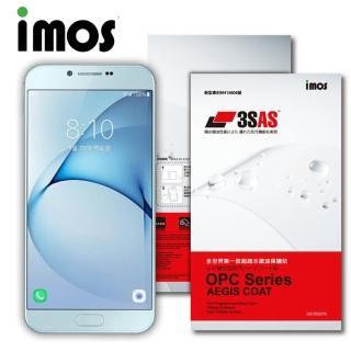 【iMOS 3SAS】SAMSUNG GALAXY A8 3SAS 疏油疏水 螢幕保護貼(2016 版)