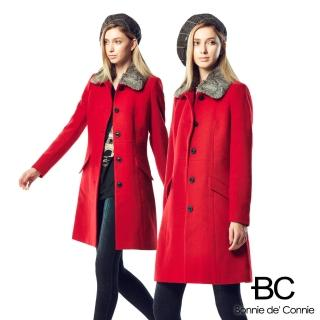 【BC】法國羊毛大衣急凍限量補貨檔(兩色任選)