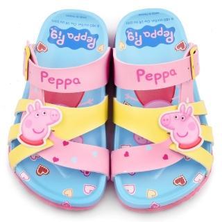 【童鞋城堡】佩佩豬可愛軟木拖鞋 粉紅豬小妹(PG0017-粉)