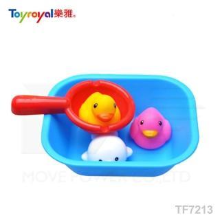 【日本《樂雅 Toyroyal》】水瓢洗澡組(娃娃城、貝親、樂雅、洗澡玩具、噴水玩具)