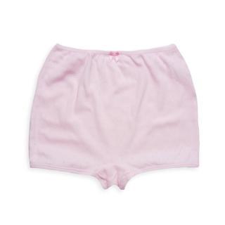 【annypepe】兒童內褲 純棉女童四角褲-提花洞洞-粉紅