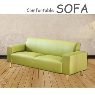 【時尚屋】蘿絲蘋果綠特殊透氣皮三人座沙發(U6-919-505)