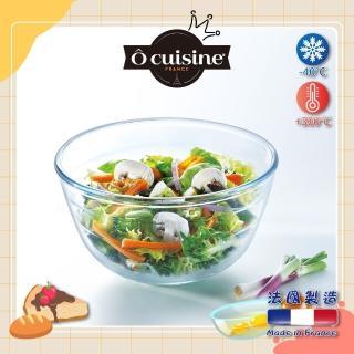 【法國 O cuisine】百年工藝耐熱玻璃調理盆(14CM)