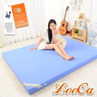 【LooCa】抗菌防蹣防水12cm釋壓記憶床墊(單大3.5尺)