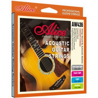 【美佳音樂】Alice AW436-XL 進口民謠吉他套弦(10-47)