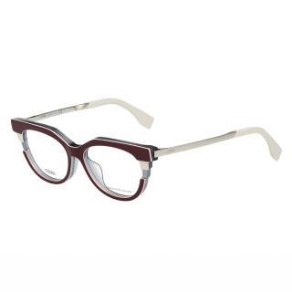 【FENDI】-廣告主打 光學眼鏡FF0116(深紅色)