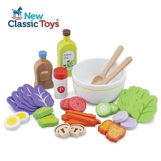 【荷蘭New Classic Toys】蔬食沙拉組合(10592)