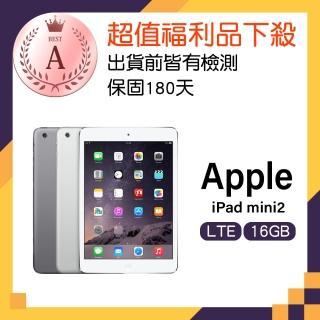 【Apple 福利品】iPad mini 2 LTE 16GB 平板(A1490)