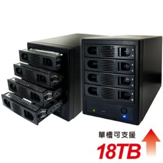 【伽利略】USB3.0 + eSATA 4-bay硬碟外接盒(35D-U3ES)