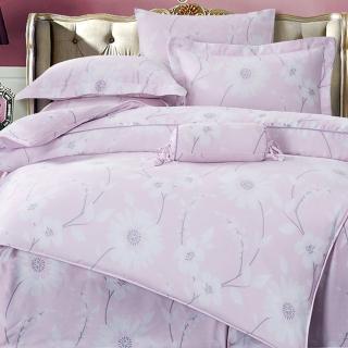 【GiGi居家寢飾生活館】100%純天絲TENCEL雙人七件式兩用被床罩組(愛戀花季 雙人5x6.2尺)