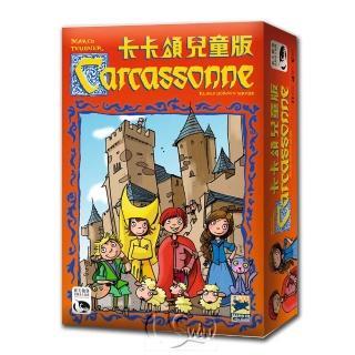 【新天鵝堡桌遊】卡卡頌兒童版  Carcassonne Kids(學齡前必選)