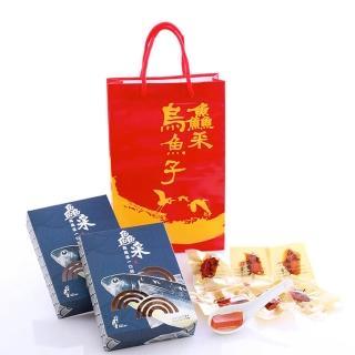 【莊國勝】金鑽一口吃烏魚子6盒(10片/盒 附提袋x3)