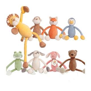 【美國miYim】有機棉瑜珈娃娃(多款動物造型)