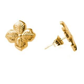 【Anna Lou Of London】倫敦品牌 hyacinth 風信子 花朵耳環 金色(絕版品 售完不補)