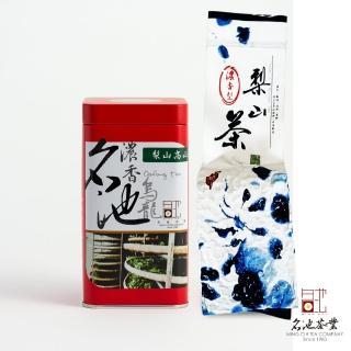 【名池茶業】梨山醇水烏龍茶(濃香型150克x4)