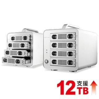 【伽利略】伽利略 USB3.0 + eSATA 1至4層抽取式鋁合金硬碟(35D-U3ES4M)