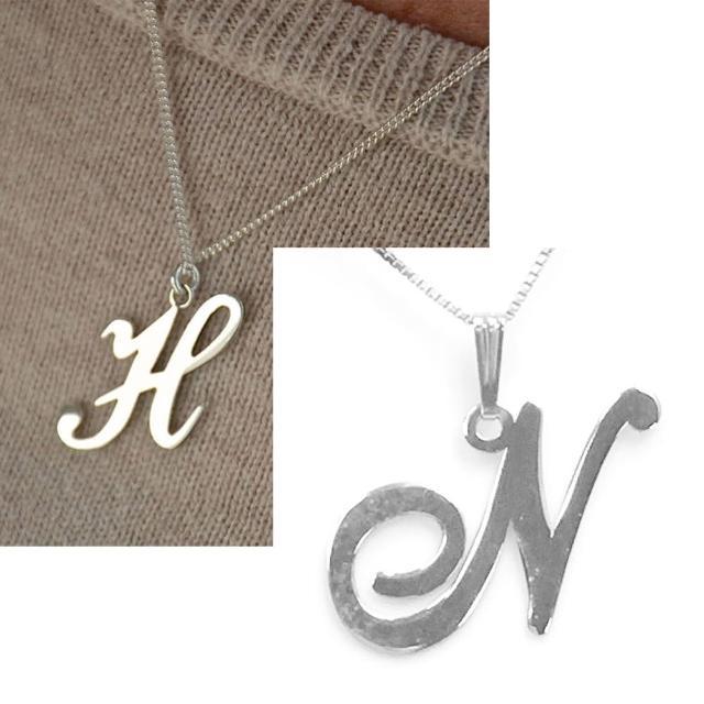 【Anna Lou Of London】倫敦品牌 N 個性字母項鍊 銀(絕版品 售完不補)