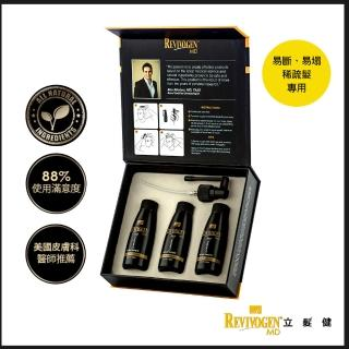 【REVIVOGEN立髮健】第三代強效頭皮養髮液 鋸棕櫚高效養髮液(60ml*3/盒)