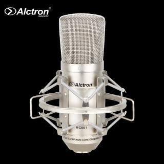 【ALCTRON】MC001 專業心型指向性大振膜電容麥克風(金屬防震架 防震降噪)