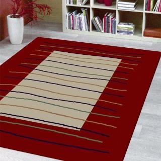 【范登伯格】瑪嘉達 輕鬆小品優質地毯-彩條(150x220cm)