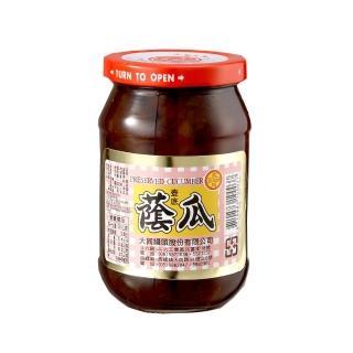 【西螺大同醬油】大同蔭瓜380g(遵古釀造)