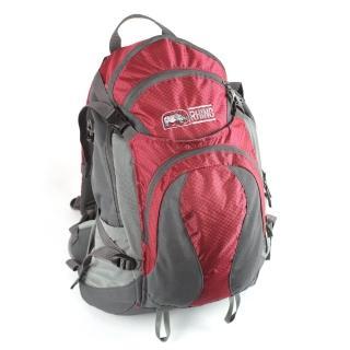 【犀牛RHINO】TrekLite 19公升透氣網架背包(紅)