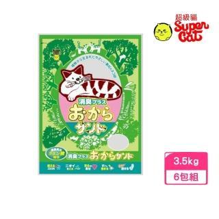 【Super Cat】韋民超級貓環保豆腐除臭貓砂 7L/3.5KG(5包組)