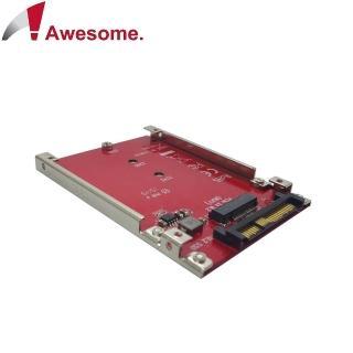 【Awesome】M.2 SSD 轉 U.2 2.5 吋 NVMe SSD 轉接盒(AWD-DT-132)