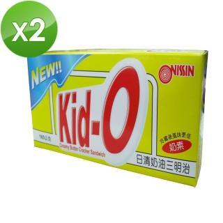 【NISSIN】Kid-O日清奶油三明治餅乾(2入組)
