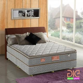 ~aie享愛名床~竹碳 3M防潑水 乳膠真三線獨立筒床墊~雙人加大6尺 經濟型