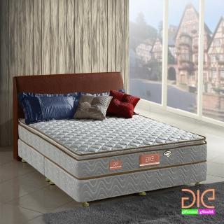 ~aie享愛名床~竹碳 3M防潑水真三線獨立筒床墊~雙人加大6尺 經濟型