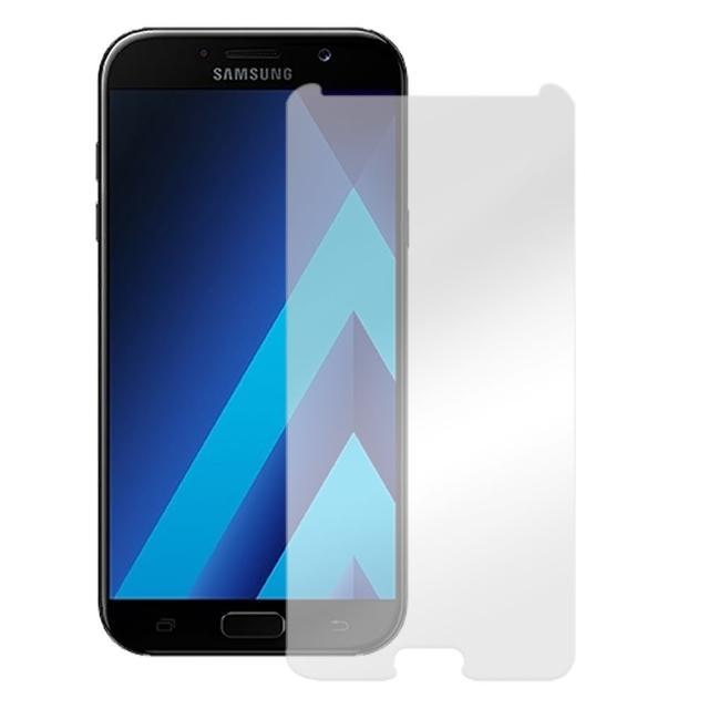 【Metal-Slim】SAMSUNG Galaxy A7 2017(9H鋼化玻璃保護貼)