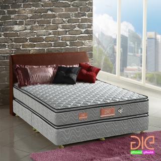 【aie享受名床】竹碳 3M防潑水 記憶膠真四線獨立筒床墊-雙人5尺 經濟型