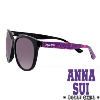 【Anna Sui】Dolly Girl系列經典洋娃娃元素造型太陽眼鏡(紫+桃紅 - DG802-001)