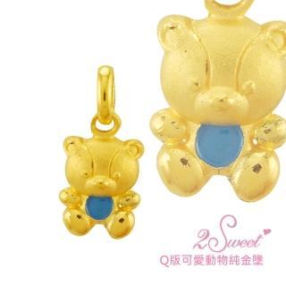 【甜蜜約定2sweet-PE-6214】純金金飾可愛動物系列-約重0.38錢(可愛動物系列)