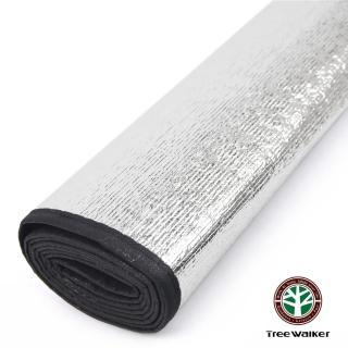 【TreeWalker】單人雙面鋁箔睡墊-200x60cm(2入)