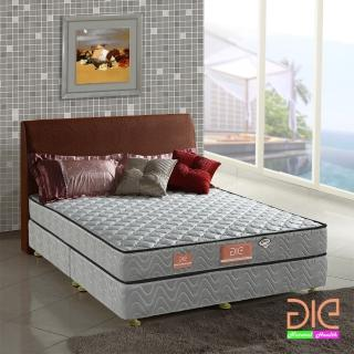 ~aie享愛名床~竹碳 3M防潑水 記憶膠二線彈簧床墊~雙人加大6尺 經濟型