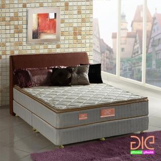 ~aie享愛名床~竹碳 羊毛 記憶膠真三線彈簧床墊~雙人加大6尺 實惠型