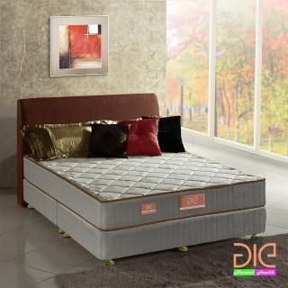 ~aie享愛名床~竹碳 羊毛 記憶膠二線彈簧床墊~雙人5尺 實惠型