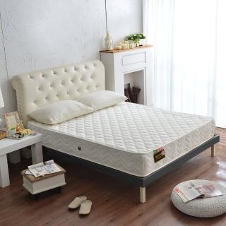 【睡芝寶】抗菌防潑水-側邊強化獨立筒床墊(雙人加大6尺)