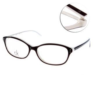 【Calvin Klein 眼鏡】流行極簡LOGO款(細緻灰#CK5720 961)