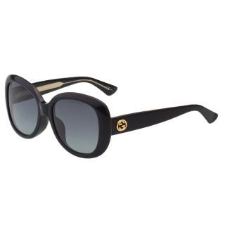 【GUCCI】-復古百搭 太陽眼鏡GG3830FS(黑色)