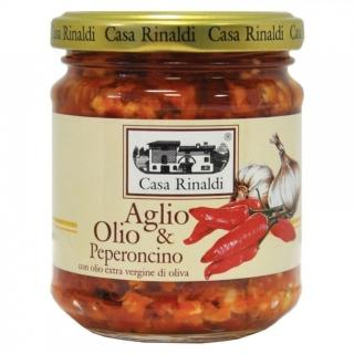 【Casa】香辣大蒜麵醬  190ml(義式傳統香辣麵醬)