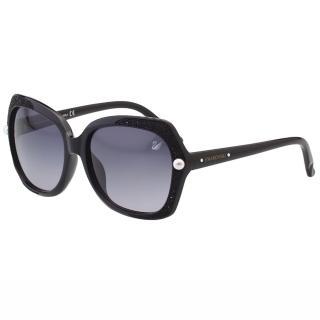 【SWAROVSKI】-奢華奪目 太陽眼鏡SW9062(黑色)