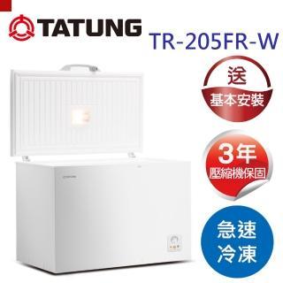 【TATUNG大同】冷凍櫃205L(TR-205FR-W)
